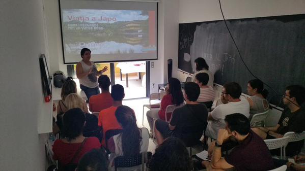 Éxito de la charla «Idees i recursos per un viatge rodó al Japó»