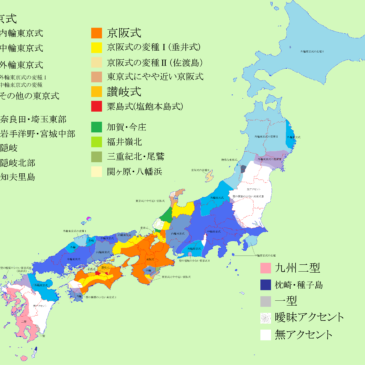 Dialectos en Japón